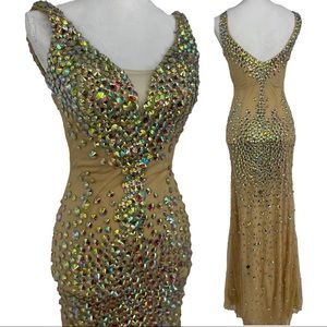 Angela & Alison prom gown